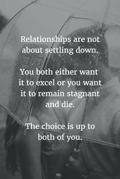 Complacent in a relationship