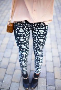 Printed trousers please
