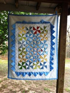 Darling quilt. Lovely design. Very creative.
