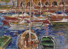 Rudolf Ullik Maler Wien Künstlerhaus Painting, House, Pictures, Painting Art, Paintings, Painted Canvas, Drawings