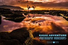 Sunset photo workshop- Kauai Adventure Photography Workshops  #photography#sunset#adventure#workshop#kauai#hawaii#coast#peace#reflect