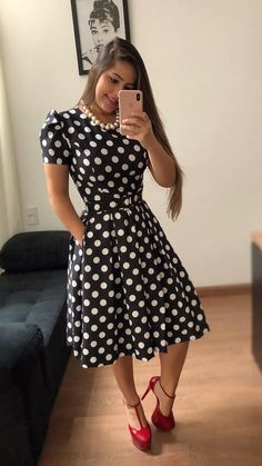 Swans Style is the top online fashion store for women. Shop sexy club dresses, jeans, shoes, bodysuits, skirts and more. Best Prom Dresses, Nice Dresses, Casual Dresses, Dot Dress, Dress Skirt, Dress Flower, Dress Outfits, Fashion Dresses, Trend Fashion