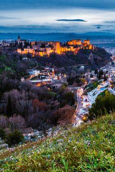 Alhambra de #Granada, Spain