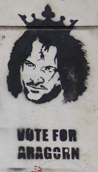 vote for Aragorn