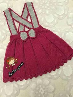 : Saia Knit Baby Dress, Crochet Baby Clothes, Knitting Patterns, Crochet Patterns, Baby Pullover, Knit Skirt, Baby Sweaters, Baby Girl Dresses, Pulls
