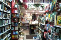 BM Bookshop, Florence.