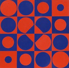 Composition, 1965 (Victor Vasarely)
