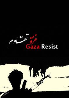 Gaza Resist by KhaledFanni on DeviantArt Palestine Art, Very Nice Images, Ernesto Che, Apartheid, Deviantart, Artworks, Poster Prints, Clothing, Projects