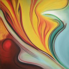 """""""New Life"""" by Xymyl / oil on canvas / original art available at TRUST"""