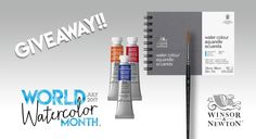Winsor & Newton World Watercolor Month Giveaway!