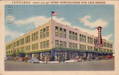 Leonard Brothers Department Store
