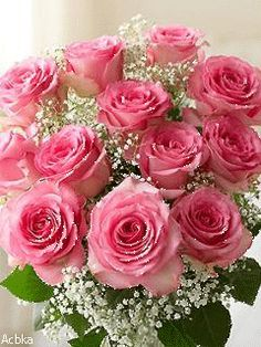 pink roses-a symbol of grace and elegance Beautiful Flowers Images, Flower Images, Amazing Flowers, Beautiful Roses, Pretty Flowers, Flores Para Algernon, Pink Rose Bouquet, Pink Roses, Flowers For Algernon
