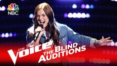 """The Voice 2016 Blind Audition - Abby Celso: """"Should've Been Us"""""""