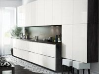 IKEA kitchens are not the same everywhere in the world. People buying IKEA kitchens in the United States and Canada get the SEKTION line. Ikea Kitchen Handles, Ikea New Kitchen, Ikea Metod Kitchen, Italian Kitchen Decor, Cocinas Kitchen, Kitchen Ideas, Kitchen Designs, Kitchen Cabinets Brands, Ikea Cabinets