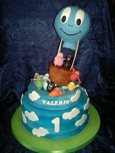 cake barbapapa'
