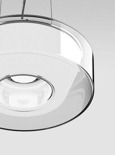 Serien Lighting Curling Suspension Rope klar/ konisch opal