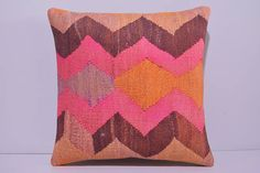 VIEW ALL DECOLIC PRODUCTS http://www.etsy.com/shop/DECOLICKILIMPILLOWS  1- Size: 16x16 Inches / 40x40 cm. 2- Material: Cotton 3- Front side: Hand Print Pattern Kilim Cotton Fabric. Weight: 3.2 LBS / Square Yard 4- Back side is cotton fabric with hidden zipper. 5- Shipping worldwide. ----------------------------------------------------------------------------------------------- You can also buy insert for this pillow cover by visiting: www.etsy.com/listing&#...