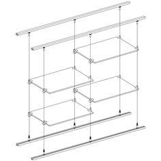 Shelving - Arakawa Hanging Systems
