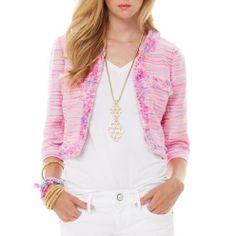 Lilly Pulitzer Lia Boucle Jacket