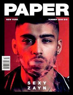 PAPER Magazine Summer 2016 ZAYN MALIK Cover Hailey Baldwin, Pia Mia Elle Kemper