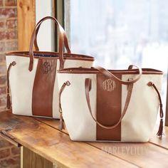 Monogrammed Miller Tote Bag