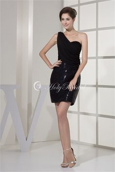 Sheath/ Column Draped Short/ Mini Sleeveless Rehearsal Dinner Dress http://www.HolyBridal.com/Sheath-Column-Draped-Short-Mini-Sleeveless-Rehearsal-Dinner-Dress-p19108.html