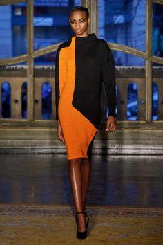 Amaya Arzuaga FW 2013/ Runway/ Orange Black