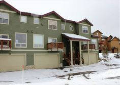 This 5 bedroom townhouse has great views year round! Perfect for vacation with a large family or multi-family vacations. This villa is next to the clubhouse, has a 2 car garage, hot tub, and 2 fireplaces. Click here for more photos and check availability http://www.breckenridgerentalplaces.com/vacation-rentals/4000/Prospector-Village-120C-Silverthorne-Silverthorne-CO