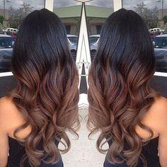 ideas hair highlights diy balayage brunettes for 2019 Balayage Brunette, Balayage Hair, Short Balayage, Brown Balayage, Haircuts For Wavy Hair, Brown Hairstyles, Diy Hairstyles, Blonde Haircuts, Long Brown Hair