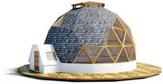 iHouse 1 prefabricated geodesic dome home, View prefab kit, Cupula Geodesica iHouse Product Details from gravitonium on Alibaba.com