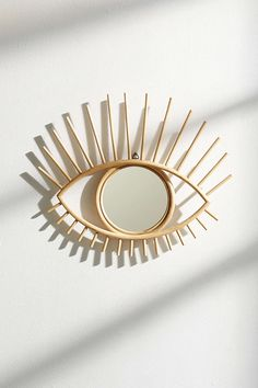 Home Decor Objects Ideas & Inspiration : Magical Thinking Open Eye Mirror Mirrors Urban Outfitters, Wall Decor, Room Decor, Interior Decorating, Interior Design, Through The Looking Glass, Home And Deco, Home Living, Home Accessories