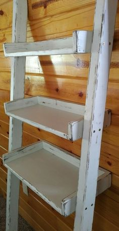 New I Semble Brackets Make Shelf Construction Easy DIY . Modern White Ladder Desk Bookcase Combination With Flip . Home and Family Leaning Ladder Shelf, Ladder Bookshelf, Bookshelves, Skylight Glass, Bathroom Ladder, Bathroom Ideas, Diy Furniture Projects, Pallet Projects, Diy Patio