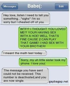 Funny Text By Ex LOL