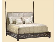 Elite Furniture Gallery Marge Carson NC Furniture Shop for Marge Carson Malibu Low Post Bed, MLB91, and other Bedroom Beds at Elite Interiors in Myrtle Beach, SC. Unwind and relax in what can be considered the most sacred part of your home: the bed. This bed brings together essential elements to create equilibrium between style and function for a piece that displays your sensibility. www.elitefurnituregallery.com 843.449.3588 Nationwide Delivery
