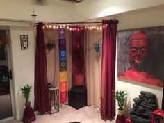 Pure meditation room sacred space Now Hiring – Dream Home - Yoga Meditation Corner, Meditation Room Decor, Meditation Space, Meditation Music, Zen Space, Zen Room, Prayer Room, Wabi Sabi, Bedroom Decor