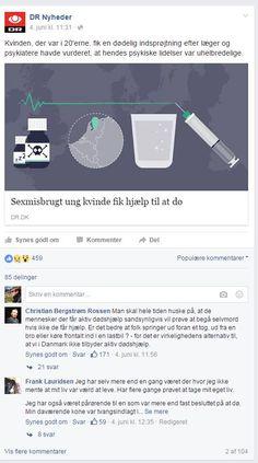 Facebookdebat om aktiv dødshjælp juni 2016