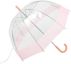 "all-weather 42"" clear dome umbrella"