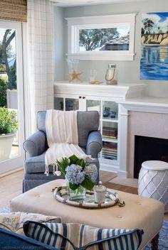 45 Beautiful Coastal Decorating Ideas - Debra Lynn Henno Design. Santa Barbara Residence.