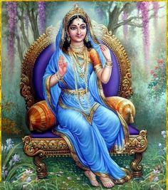 Radharani is the ishwari-the controller of Vrndavana. Krishna Leela, Krishna Hindu, Krishna Statue, Radha Krishna Pictures, Lord Krishna Images, Radha Krishna Photo, Hindu Deities, Hare Krishna, Krishna Drawing