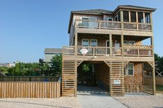 FRISCO Vacation Rentals | Shore Delight - Oceanside Outer Banks Rental | 808 - Hatteras Rental