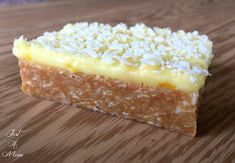 This No Bake slice has been my favourite since I was a little girl. I love the combination of the buttery zesty biscuit base and a sweet citrusy icing, it reall No Bake Treats, Yummy Treats, Sweet Treats, Yummy Food, Lemon Desserts, No Bake Desserts, Dessert Recipes, Lemon Cakes, Bar Recipes