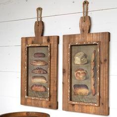 Artisan Bread Prints Wall Art, Set of 2