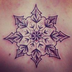 Snowflake mandala tattoo: Mandala Snowflakes Tattoo'S Tattoo'S Idea ...
