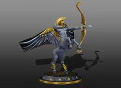 This papercraft is a Sagittarius the (Centaur) Archer, one of the 12 zodiacal signs, the paper model is created by Hekatex. The size of finished model is about 404 (H) x 396 (W) x 375 (D) mm.
