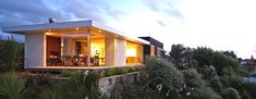 Space Architecture Studio modern home kawau Waikanae Space Architecture, Residential Architecture, Contemporary Beach House, Architect House, Outdoor Areas, New Homes, Cabin, Mansions, Interior Design