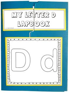 I have added the letter D lapbook to the 1 - 2 - 3 Learn Curriculum web site.
