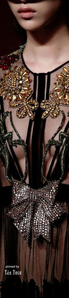 ❈Téa Tosh❈ Gucci Spring 2017 Ready-to-Wear
