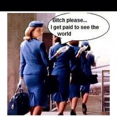 Flight attendant life, love my job on We Heart It Imagen de flight attendant, airliner, and flight crew