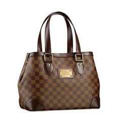 0612e1baeef3 LOUIS VUITTON HAMPSTEAD PM N51205 TOTE BAG DAMIER EBENE CANVAS Louis Vuitton  Sale