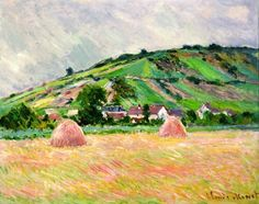 Environ de Giverny - Claude Monet, 1883  Museum of Contemporary Art, Teheran Iran  http://www.tmoca.com  http://www.newser.com/story/7811/iran-guards-hidden-art-trove.html  http://articles.latimes.com/2007/sep/19/world/fg-museum19/3